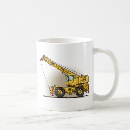 Taza de café del material de construcción de la