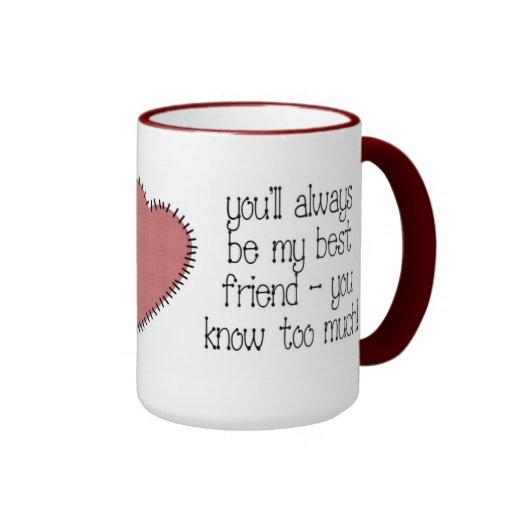 Taza de café del mejor amigo