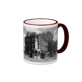 Taza de café del mesón del puerto