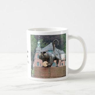 Taza de café del mono del puente de Heidelberg