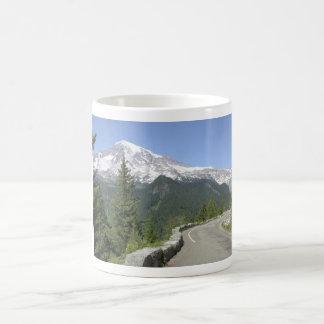 Taza de café del Monte Rainier
