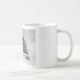 Taza de café del motel de la mamá
