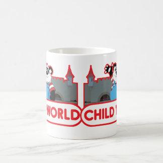 Taza de café del mundo del niño