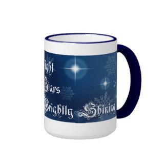 Taza de café del navidad