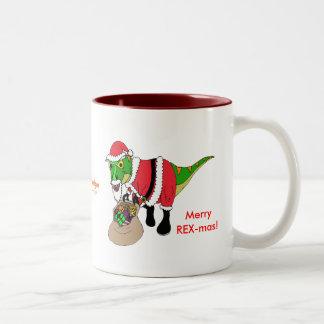 Taza de café del navidad por los diseños de Fishfr