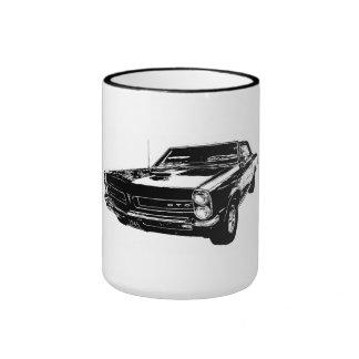 Taza de café del negro 1965 GTO