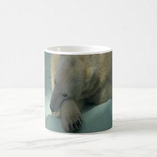 Taza de café del oso polar