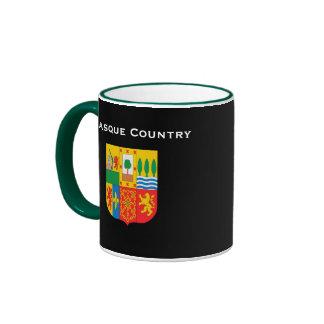 Taza de café del país de BASQUE* Euskal Herria