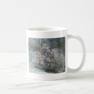 Taza de café del país de las maravillas del