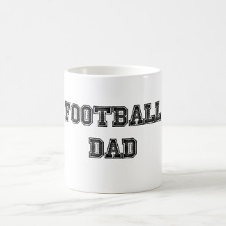 Taza de café del papá del fútbol
