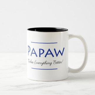 Taza de café del Papaw