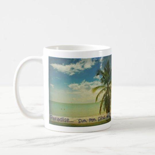 taza de café del paraíso