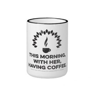 """Taza de café del """"paraíso"""" de Johnny Cash"""
