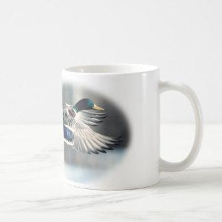 Taza de café del pato silvestre de la caza del