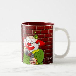 Taza de café del payaso del asesino