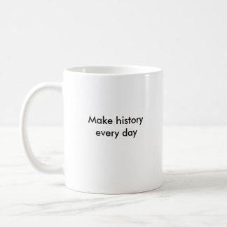 Taza de café del pedazo