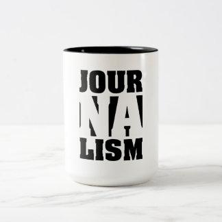 Taza de café del periodismo