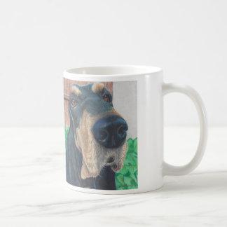 taza de café del perro