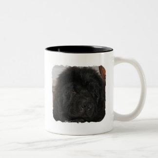 Taza de café del perro de Terranova