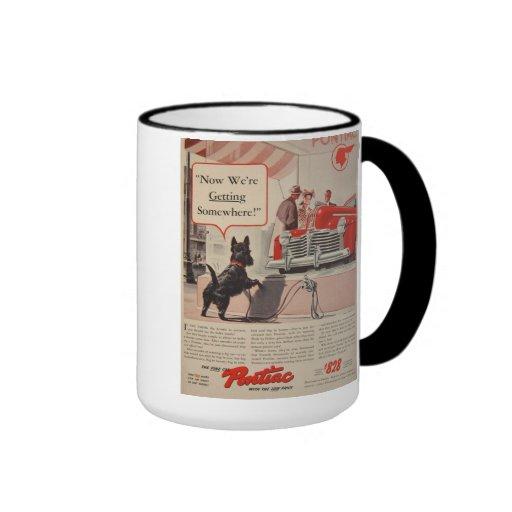 Taza de café del perro de Terrier