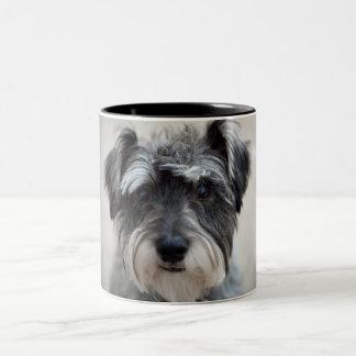Taza de café del perro del Schnauzer
