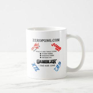 Taza de café del personal de Zeropong