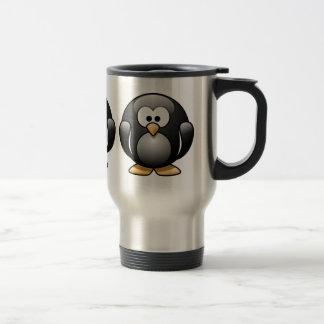 Taza de café del pingüino