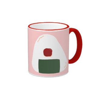 """""""Taza de café del ~Pink ver.~ del ♥ de Onigiri"""" Taza De Dos Colores"""