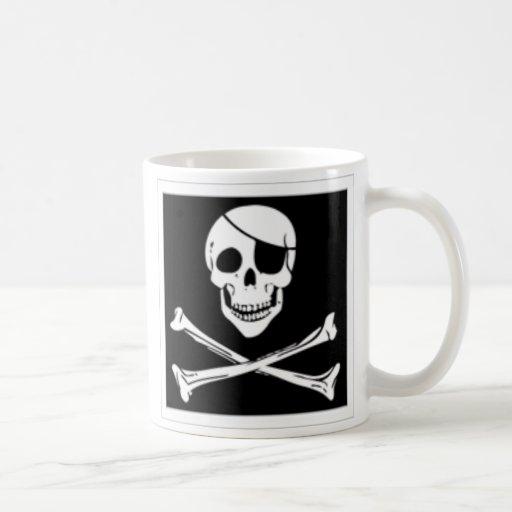 taza de café del pirata