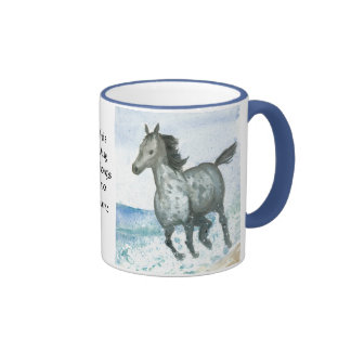 Taza de café del potro de Personalisable Connemara