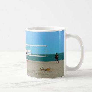 Taza de café del primer vuelo