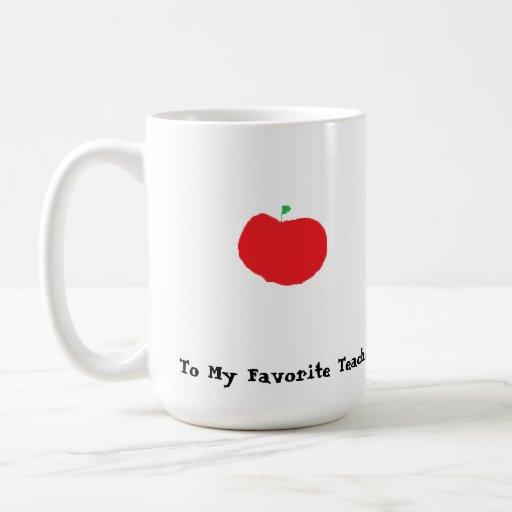 Taza de café del profesor