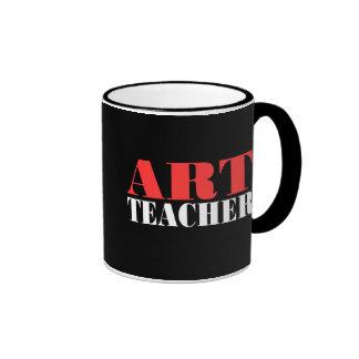 Taza de café del profesor de arte