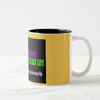 Taza de café del proverbio de Apache
