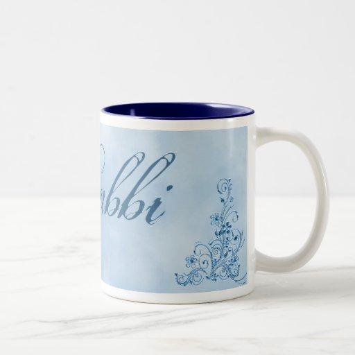 Taza de café del rabino pequeña: Elegancia del azu