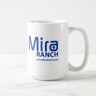 Taza de café del rancho 15oz de Mira