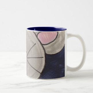 Taza de café del ratón de la acuarela