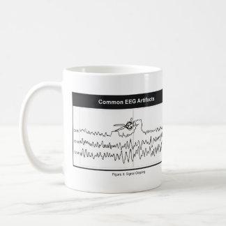 Taza de café del recortes de la señal