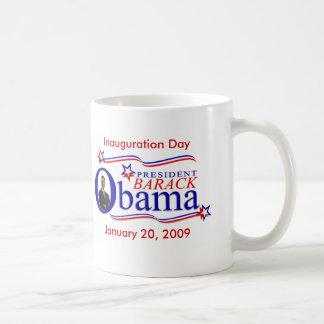 Taza de café del recuerdo de la inauguración de Ob