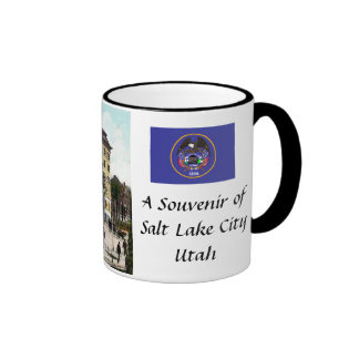 Taza de café del recuerdo - Salt Lake City, Utah