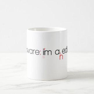 Taza de café del redactor