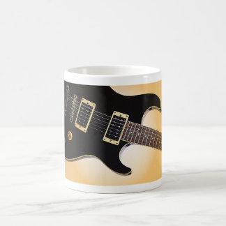 Taza de café del regalo de la guitarra o Stein