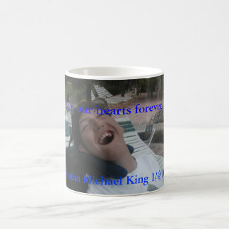 Taza de café del rey de Jordania Michael