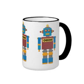 ¡Taza de café del robot