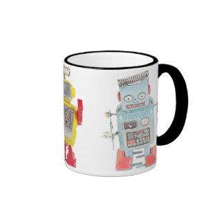 Taza de café del robot del juguete