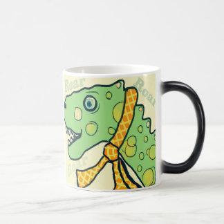 Taza de café del rugido