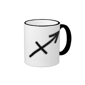 Taza de café del sagitario