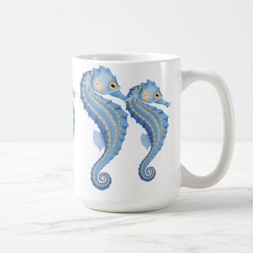 Taza de café del Seahorse