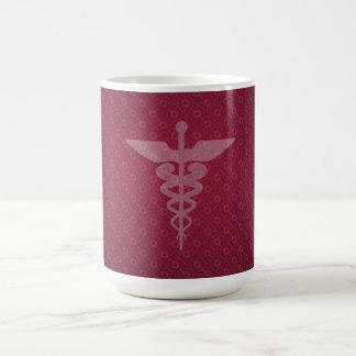 Taza de café del símbolo de la enfermera