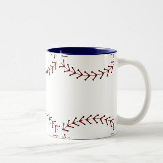 Taza de café del softball de Fastpitch